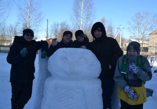 Конкурс ледяных фигур