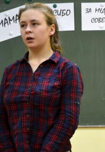 Сибирцева Алёна, группа № 27 по специальности «Технология продукции общественного питания», 3-е место.